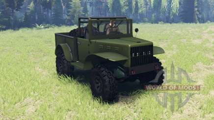 Dodge M37 1941 for Spin Tires