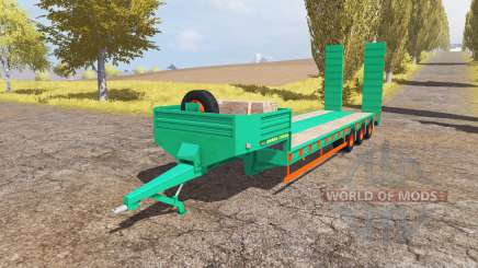 Aguas-Tenias lowboy 3-axis v2.0 for Farming Simulator 2013