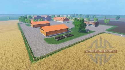 Northern agricultural map for Farming Simulator 2015
