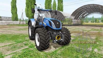 New Holland T7.290 v1.2 for Farming Simulator 2017