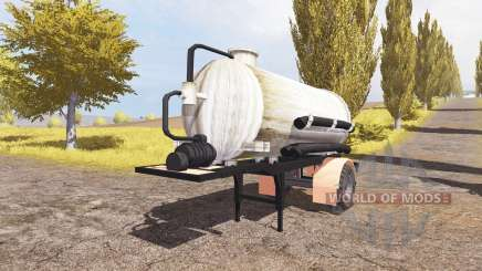 Manure semitrailer v2.0 for Farming Simulator 2013