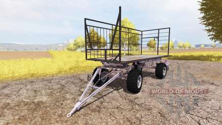 Bale trailer v3.0 for Farming Simulator 2013