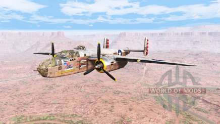 North American B-25 Mitchell v5.2 for BeamNG Drive