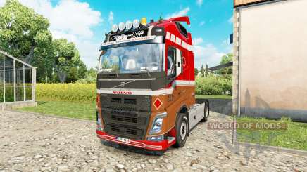Volvo FH 540 for Euro Truck Simulator 2