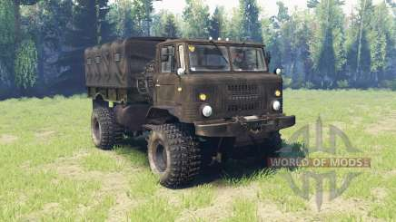 GAZ 66 v4.0 for Spin Tires