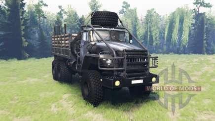 Ural 43260 v2.0 for Spin Tires