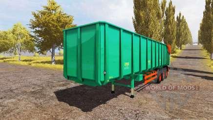 Aguas-Tenias semitrailer v2.0 for Farming Simulator 2013
