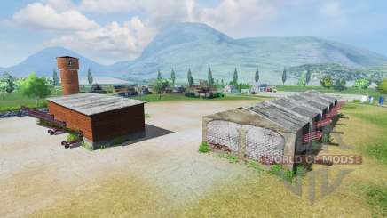 Russian farm for Farming Simulator 2013