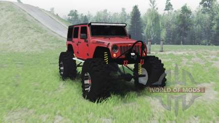 Jeep Wrangler for Spin Tires