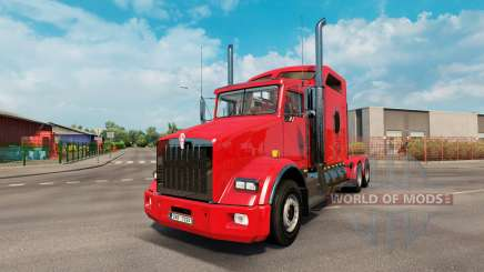 Kenworth T800 v2.2 for Euro Truck Simulator 2
