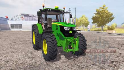 John Deere 6115M v2.0 for Farming Simulator 2013