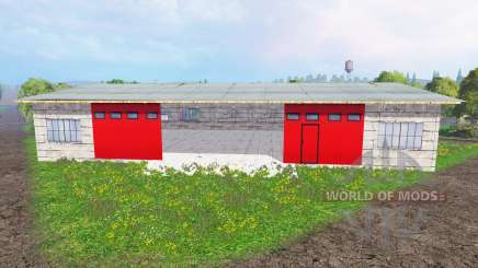 Placeable garage for Farming Simulator 2015