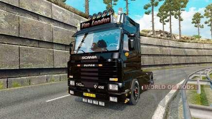Scania 143M 450 Van Londen for Euro Truck Simulator 2