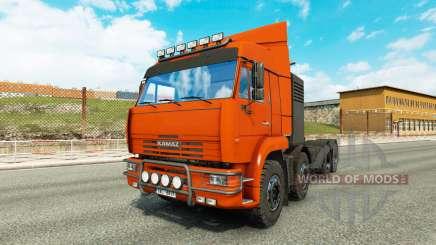 KamAZ 65201 v1.1 for Euro Truck Simulator 2