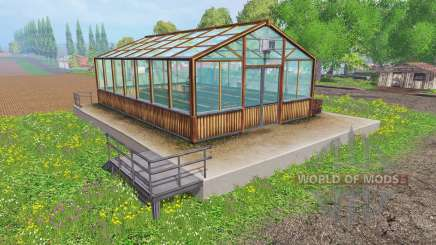 Hemp greenhouse for Farming Simulator 2015