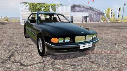 BMW 750i (E38) for Farming Simulator 2013