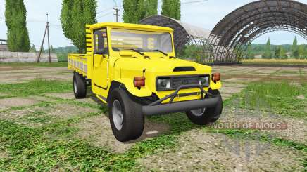 Toyota Land Cruiser Bandeirante (OJ55LP) for Farming Simulator 2017