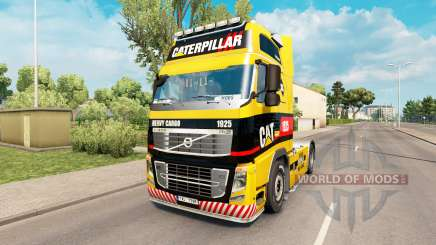 1925 Caterpillar skin for Volvo truck for Euro Truck Simulator 2
