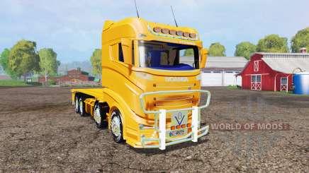 Scania R1000 container truck v1.1 for Farming Simulator 2015