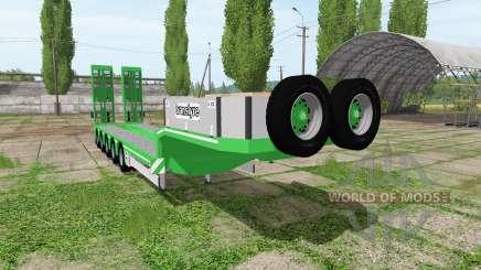 DOLL translyre lowboy for Farming Simulator 2017