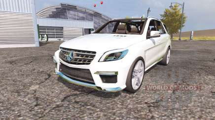 Mercedes-Benz ML 63 AMG (W166) for Farming Simulator 2013