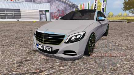 Mercedes-Benz S 350 (V222) 2014 for Farming Simulator 2013