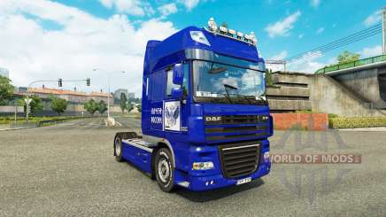 Skin Post of Russia on truck DAF XF for Euro Truck Simulator 2
