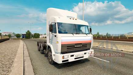 KamAZ 54115 v2.0 for Euro Truck Simulator 2