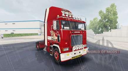 Skin Little Miss on truck Freightliner FLB for American Truck Simulator