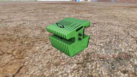 Weight John Deere for Farming Simulator 2015