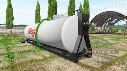Fliegl hooklift for Farming Simulator 2017