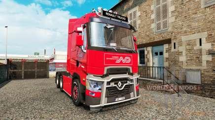 Renault T v4.3 for Euro Truck Simulator 2