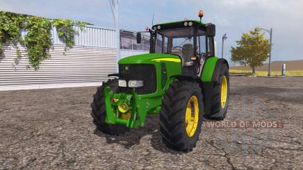 John Deere 6620 v3.0 for Farming Simulator 2013