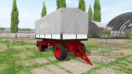 Tilt trailer for Farming Simulator 2017