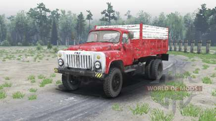 GAZ 53 4x4 for Spin Tires