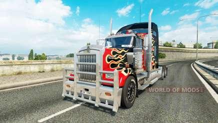 Kenworth W900 v1.1 for Euro Truck Simulator 2