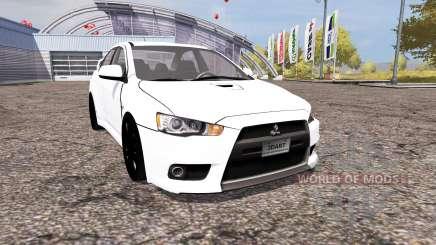 Mitsubishi Lancer Evolution X v2.0 for Farming Simulator 2013