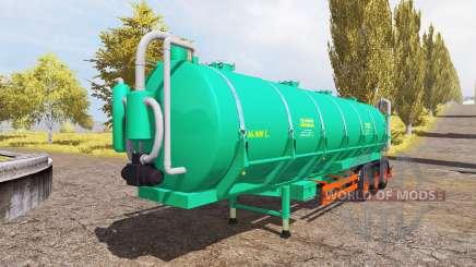 Aguas-Tenias tank manure v2.0 for Farming Simulator 2013