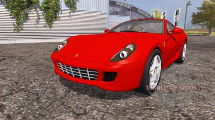 Ferrari 599 GTB Fiorano for Farming Simulator 2013