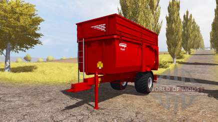 Krampe Big Body 600 E for Farming Simulator 2013