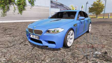 BMW M5 (F10) v2.0 for Farming Simulator 2013