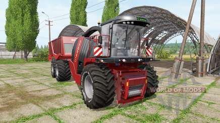 Krone BiG X 1100 cargo v2.0 for Farming Simulator 2017