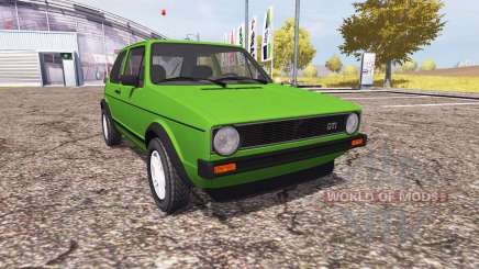 Volkswagen Golf GTI (Typ 19) 1976 for Farming Simulator 2013