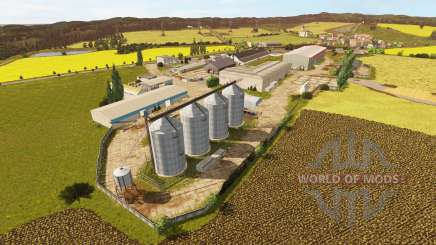 Western region v1.1 for Farming Simulator 2017