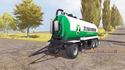 Zunhammer manure transporter v1.1 for Farming Simulator 2013