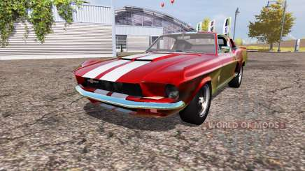 Shelby GT500 for Farming Simulator 2013