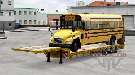 Low sweep with the load bus for American Truck Simulator