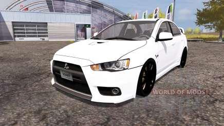 Mitsubishi Lancer Evolution X for Farming Simulator 2013
