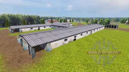 Ukrainian collective farm for Farming Simulator 2013