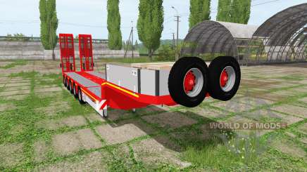 DOLL panther lowboy for Farming Simulator 2017
